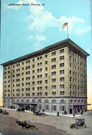 Jefferson Hotel Peoria Illinois