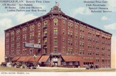 Mayer Hotel Peoria Illinois
