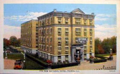 New National Hotel Peoria Illinois